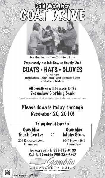 Art Gamblin Motors Coat Drive