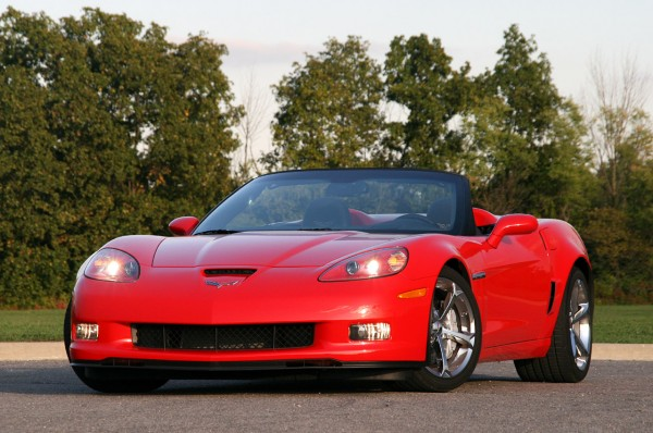 2010 Chevrolet Corvette Convertible Red