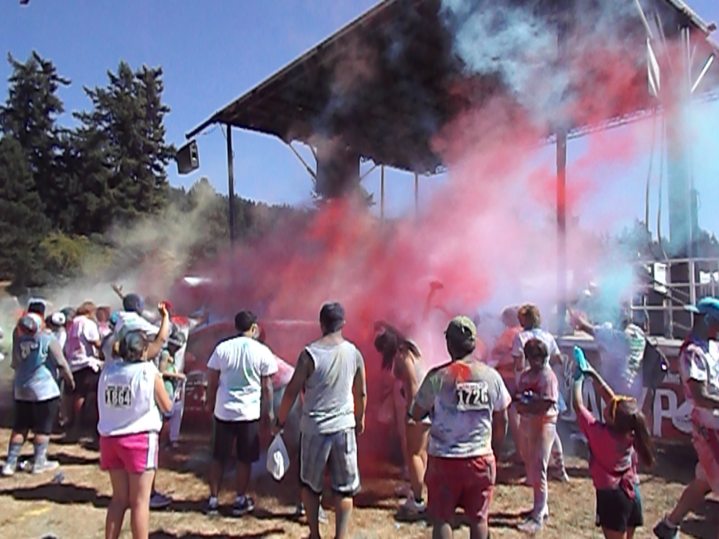color run art gamblin motors