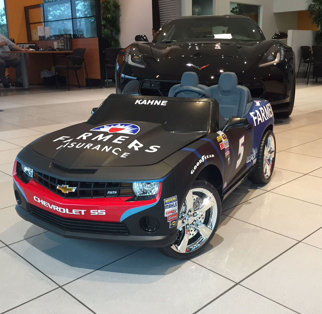 Kasey Kahnes Toy Kids Car b