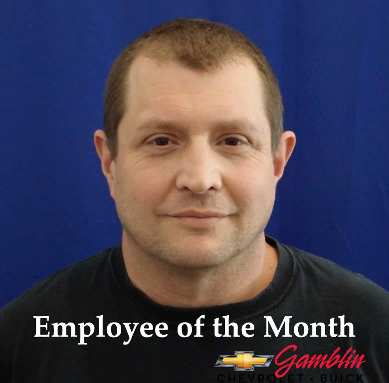 Tracer Olinger Employee of the Month